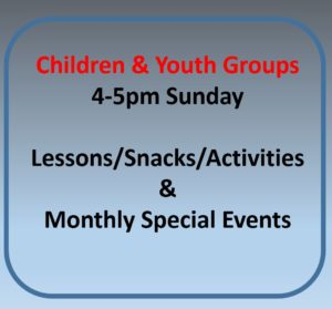 Children and Youth Groups